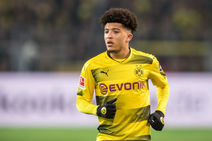 England winger Jadon Sancho, 18, wants to stay at Borussia Dortmund, despite reports linking the former Manchester City player with a return to the Premier League. [Daily Mail] Foto