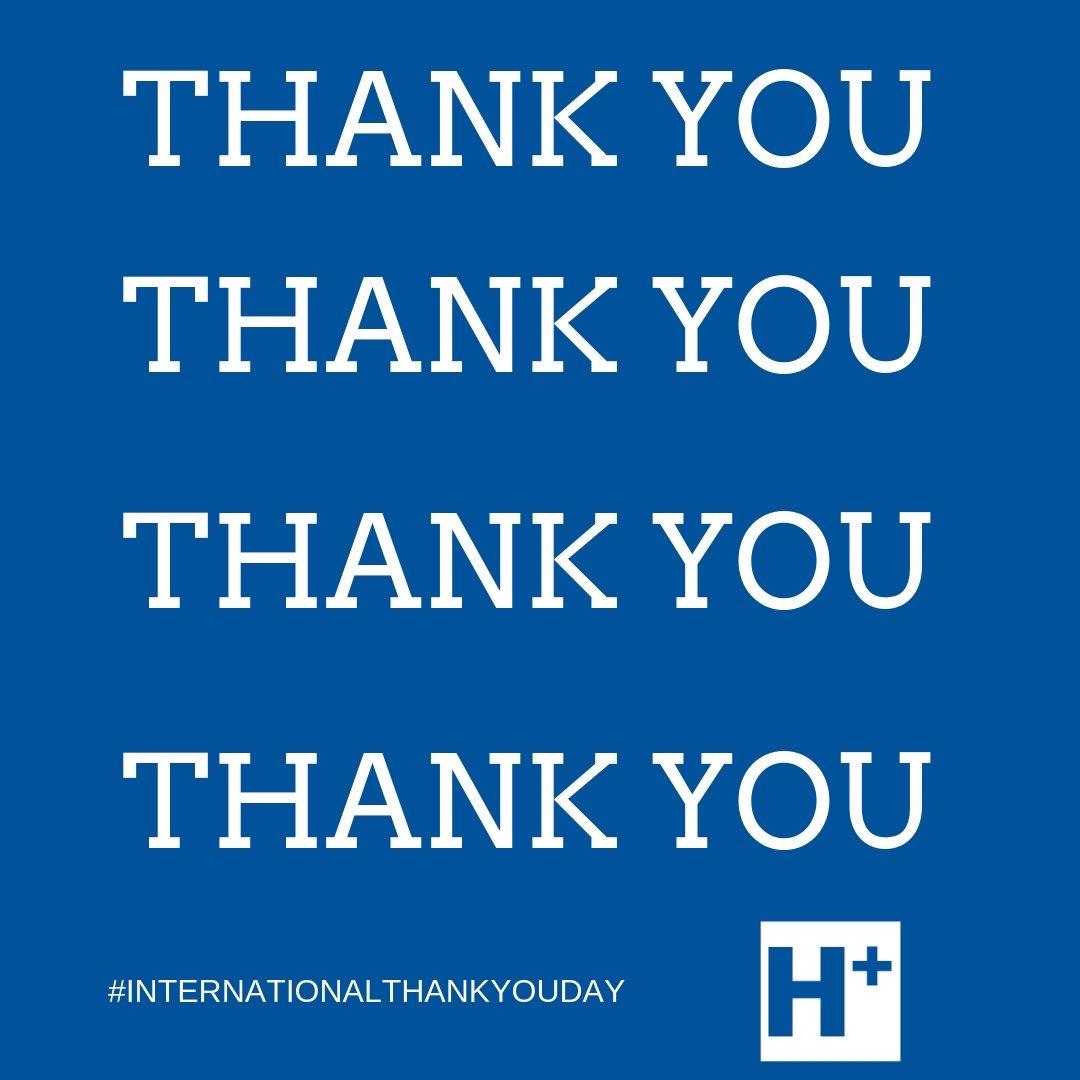 Humber River Hospital's photo on #InternationalThankYouDay