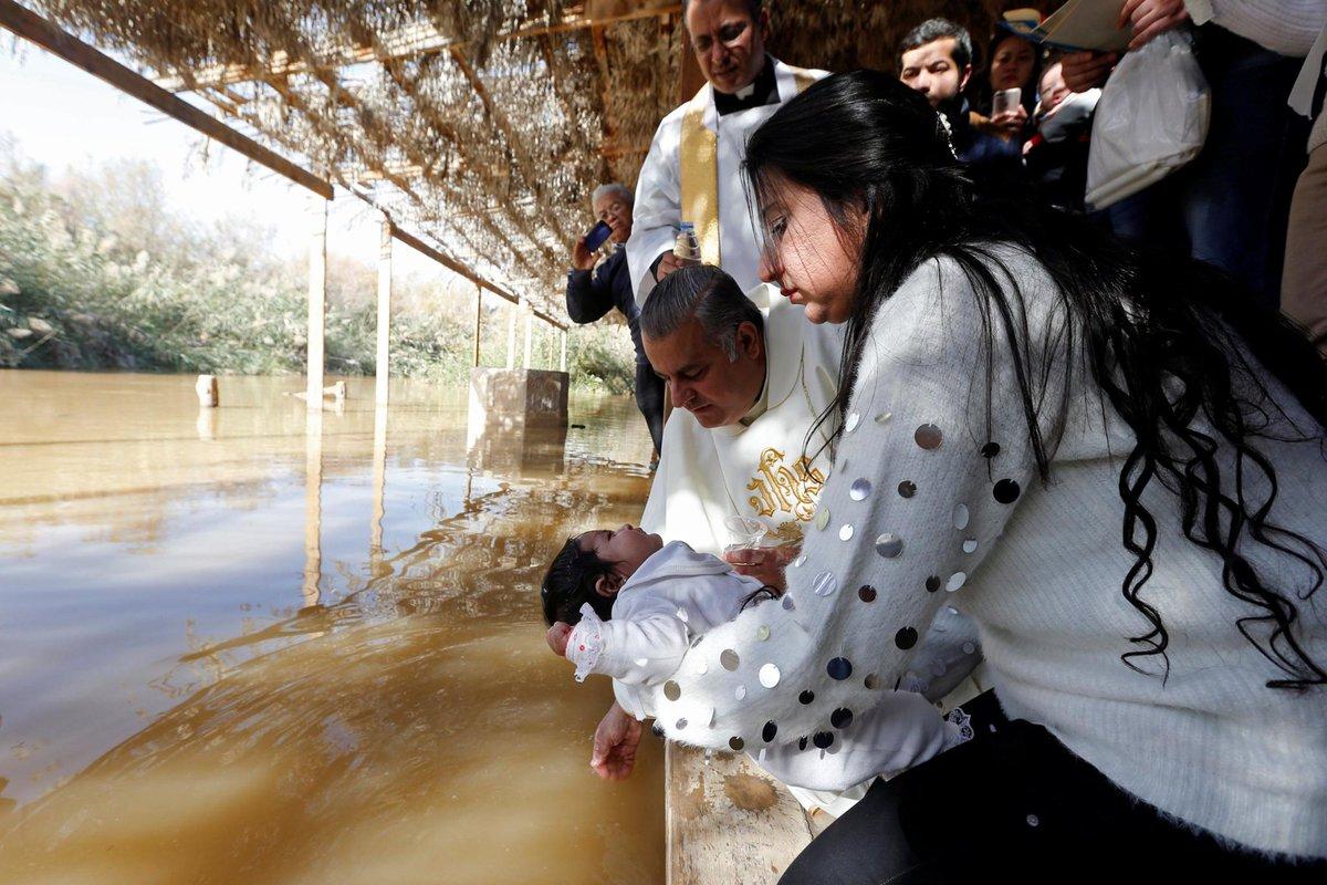 INSIGHT: Pilgrims trek to Jesus's baptism site https://reut.rs/2D5BdFL
