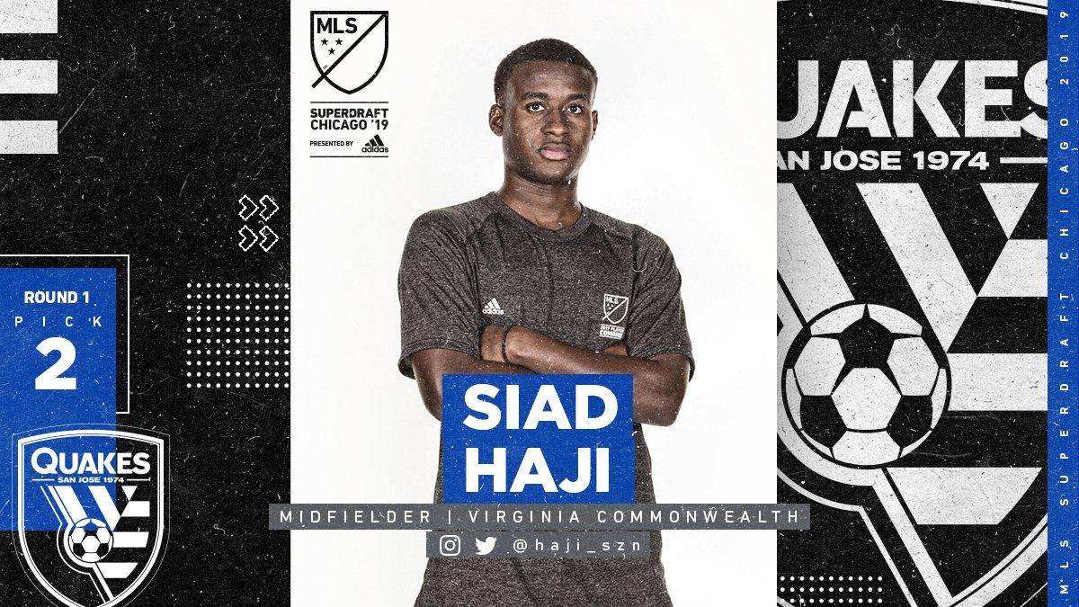 Major League Soccer's photo on Siad Haji