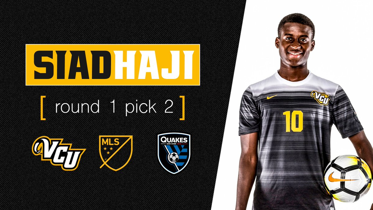 .@haji_szn was selected as the No. 2 overall pick in the 2019 MLS SuperDraft by the @SJEarthquakes  :  https:// bit.ly/2D4pGpV  &nbsp;   #ThisIsRamNation #LetsGoVCU<br>http://pic.twitter.com/yTO92RZtQH