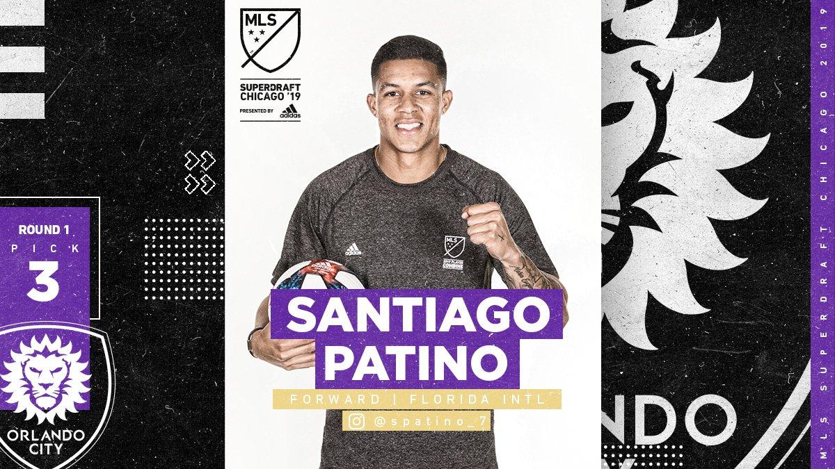 Major League Soccer's photo on Santiago Patino