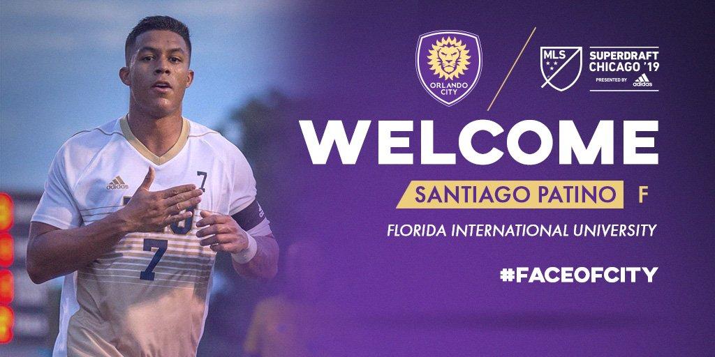 Orlando City SC's photo on Santiago Patino
