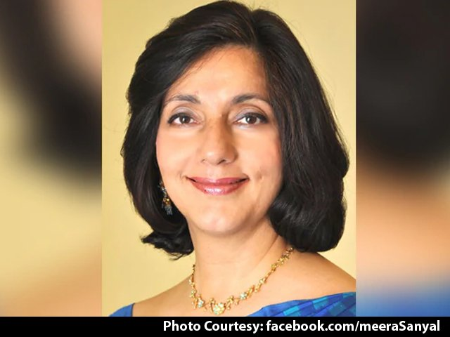 NDTV's photo on Meera Sanyal