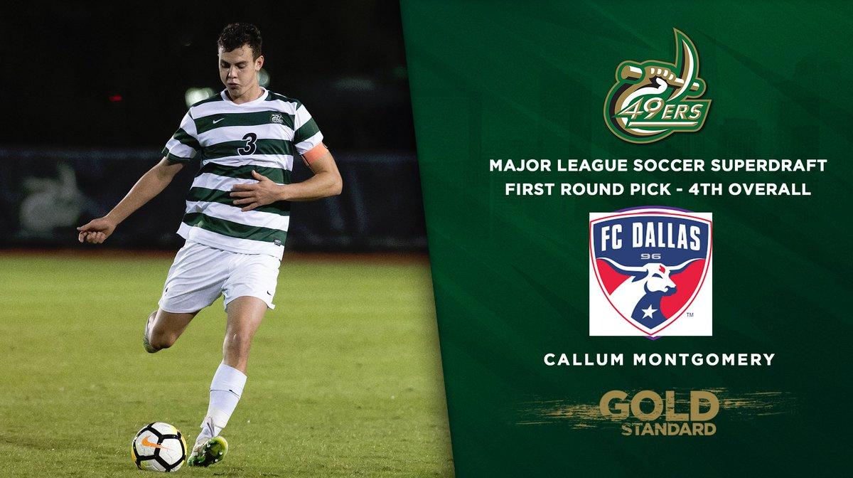Charlotte Men's Soccer's photo on Callum Montgomery