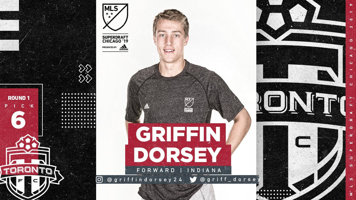 Toronto FC's photo on Griffin Dorsey