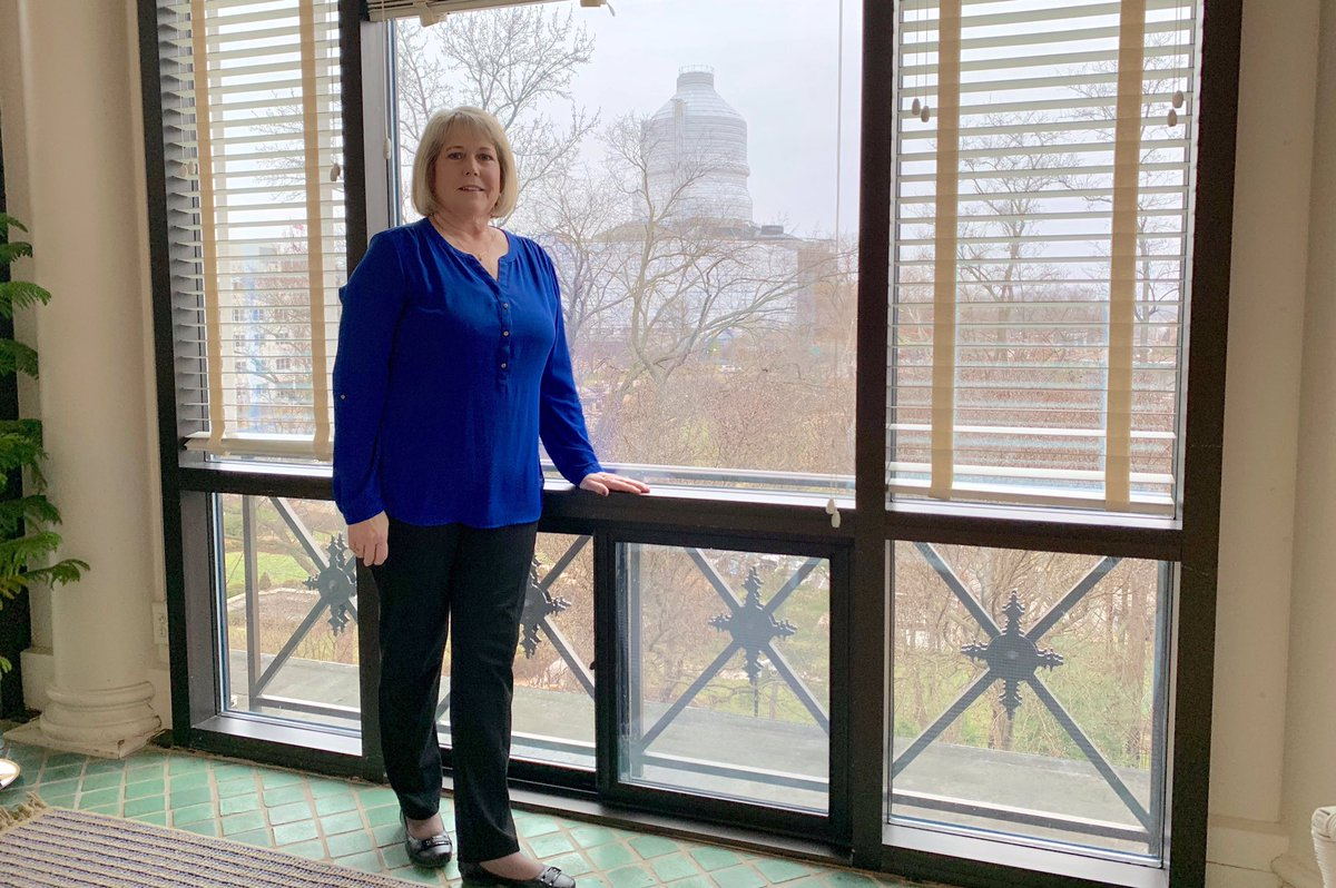 First Lady Teresa Parson's photo on #WearBlueDay