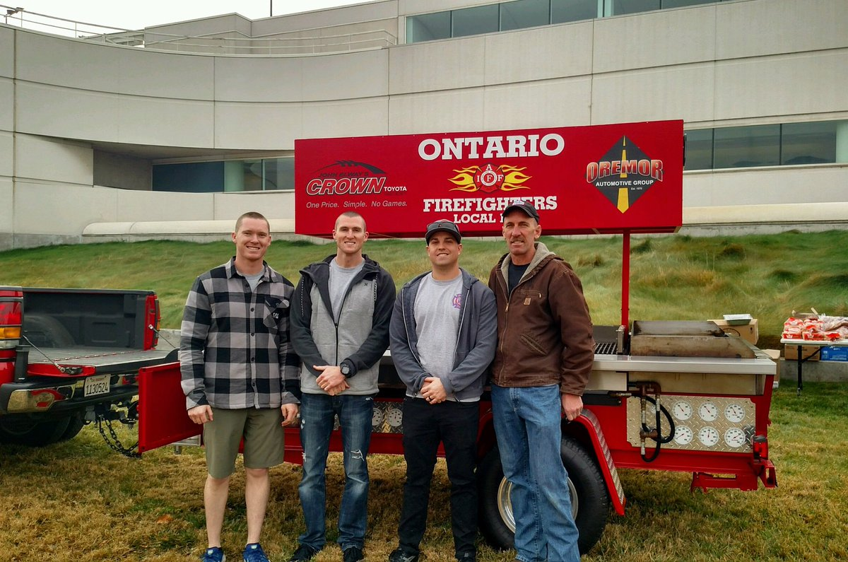 Ontario Firefighters's photo on OUT NOW
