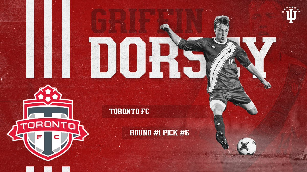 Indiana Men's Soccer's photo on Griffin Dorsey