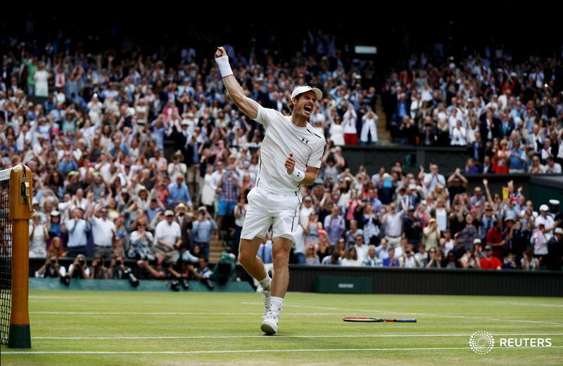 For a nation steeped in tennis history but long starved of success, Britain's Murray was the gift that kept giving: https://reut.rs/2D4761j