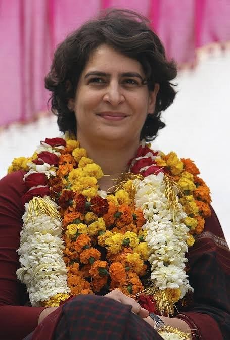 Happy birthday Priyanka Gandhi ji...