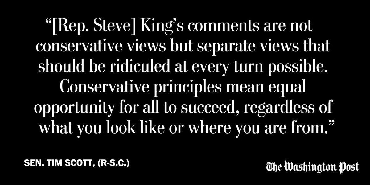 Washington Post Opinions's photo on Tim Scott