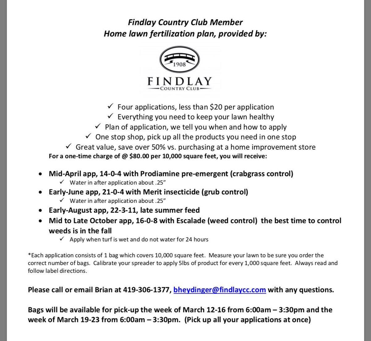Findlay Country Club (@FCC1908) | Twitter