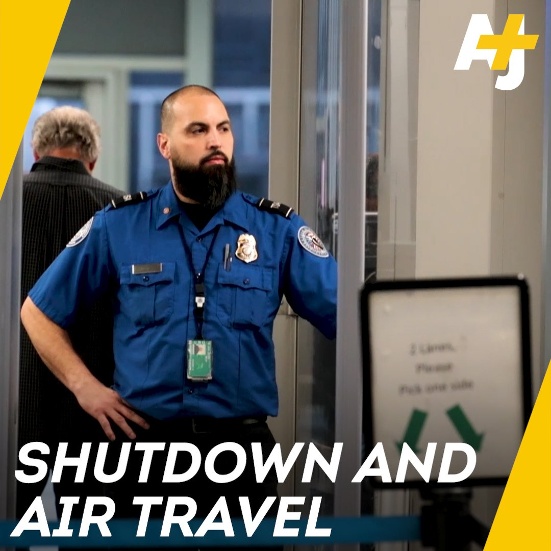 We're now on Day 21 of the government shutdown. Here's how it's affecting air travelers and airport employees: