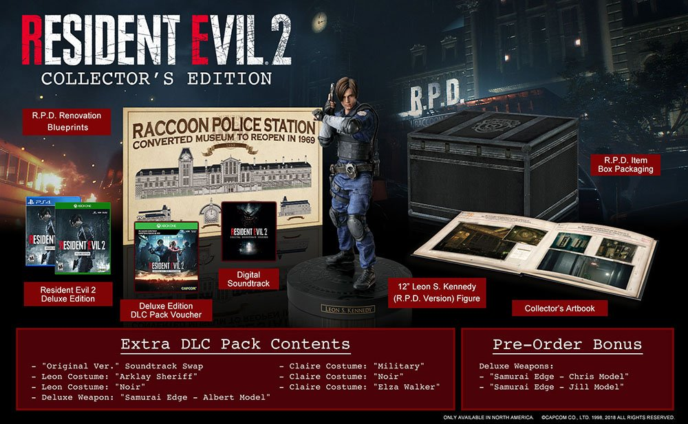 Capcom USA's photo on #RE2Demo