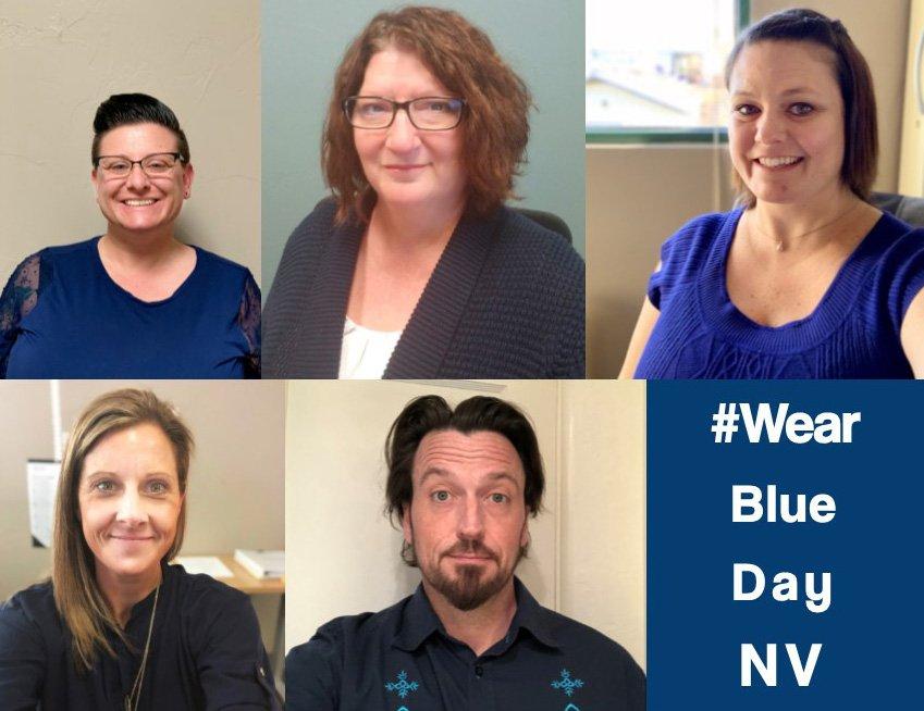 NVPCA's photo on #WearBlueDay