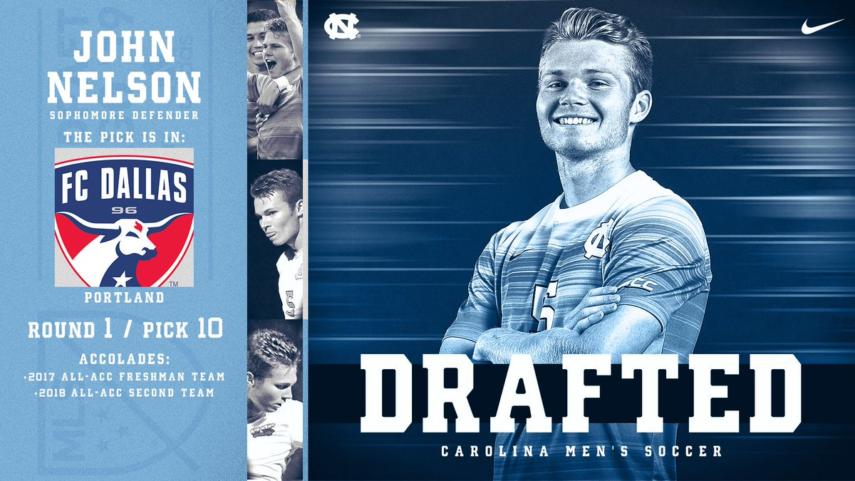 UNC Men's Soccer's photo on John Nelson