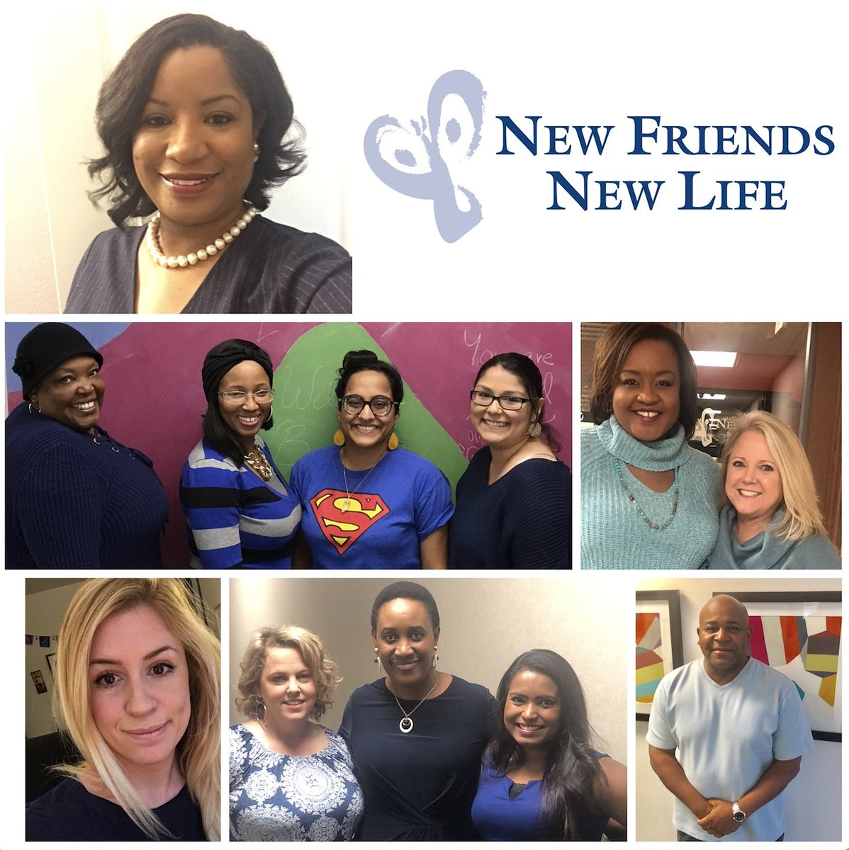 New Friends New Life's photo on #WearBlueDay