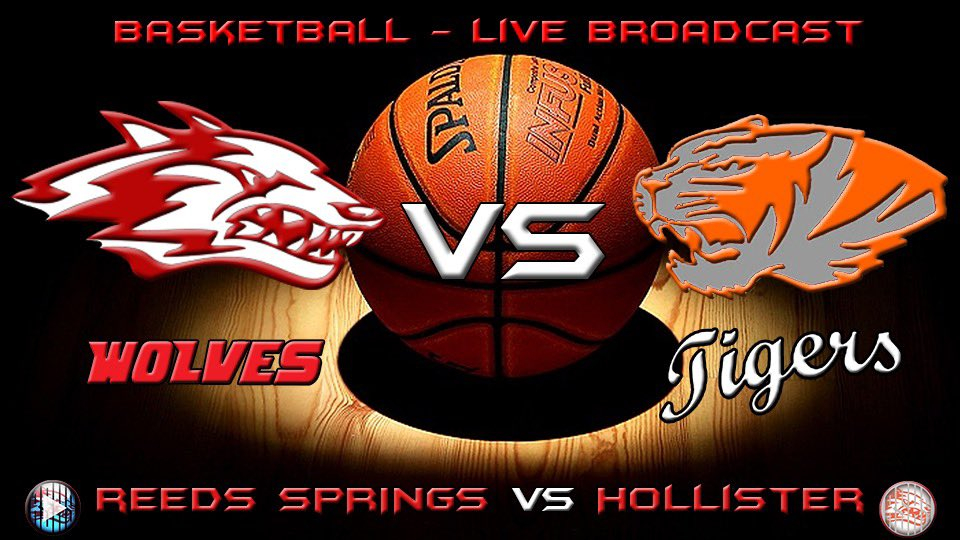 Tonight Reeds Spring Wolves will be home tonight taking on Hollister Tigers   Tonight will also be hall of fame inductions Varsity starts at 7:00pm we look forward to seeing this awesome match up See you at Jim Holt stadium!