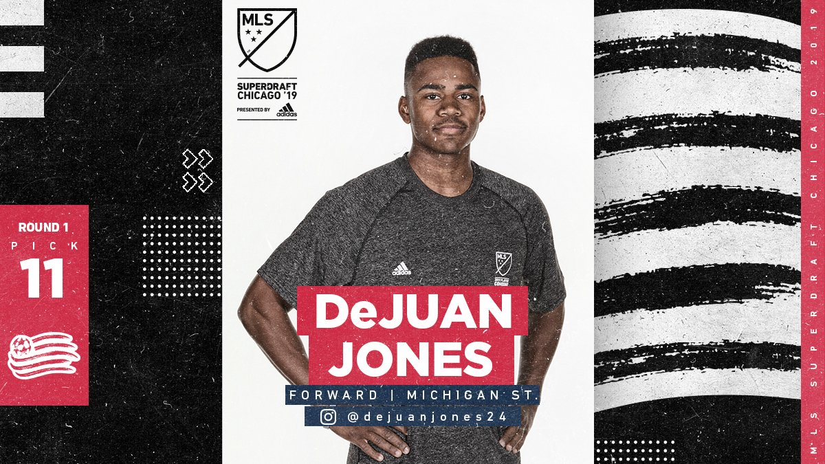Major League Soccer's photo on DeJuan Jones