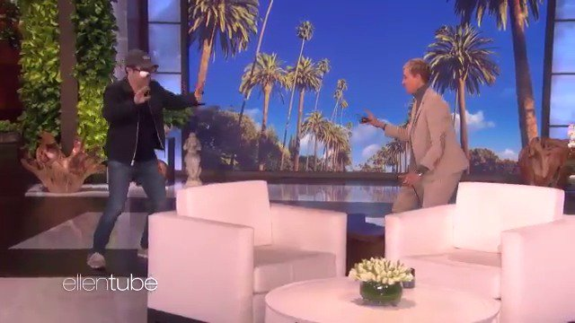 It's getting harder and harder to scare @AndyLassner, so I had to blindfold him. #Birdbox https://t.co/culMSi5F2D