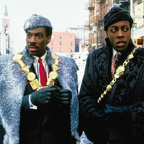 Black Slaying It's photo on Coming to America