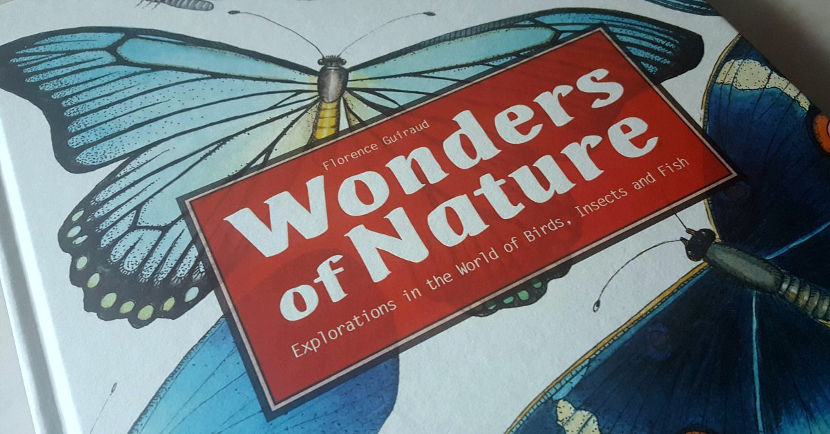 Wonders of Nature: Explorations in the World of Birds, Insects and Fish amzn.to/2HkHyRR (ad)