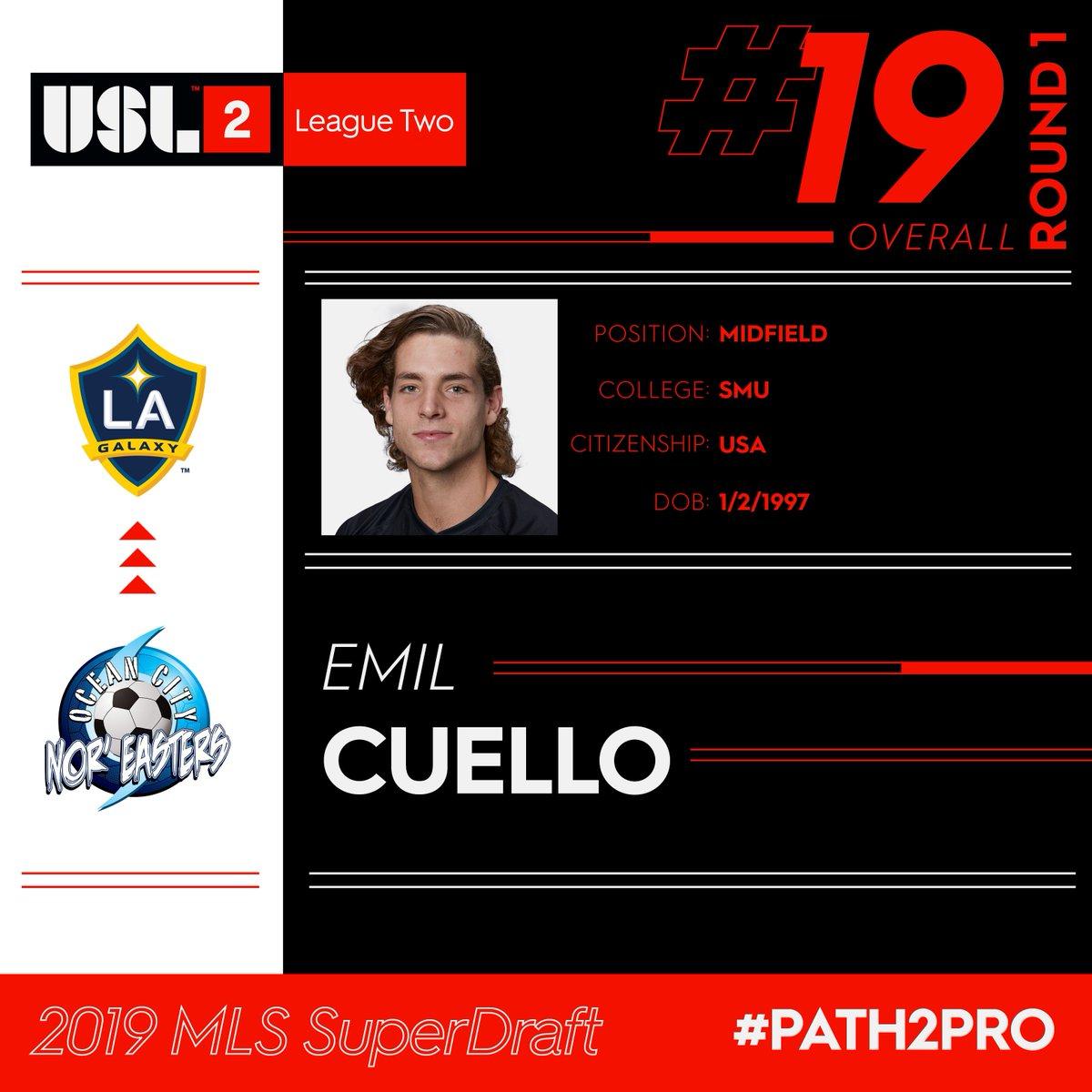 USL League Two's photo on Emil Cuello