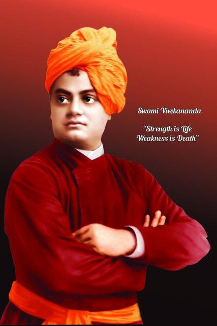 জ্ঞান,ভক্তি ও কর্মের ত্রিবেণীসঙ্গমে স্নান সেরে যিনি হয়ে উঠেছেন পূর্ণতম মহামানব আজ তাঁর জন্মদিবসে জানাই শ্রদ্ধা ও প্রণাম #স্বামীবিবেকানন্দজয়ন্তী 🙇 প্রণাম স্বামীজি🙇🌹🙇 #SwamiVivekananda উত্তিষ্ঠত,জাগ্রত,প্রাপ্য বরান্নিবোধত ARISE AWAKE & STOP NOT TILL THE GOAL IS REACHED Photo