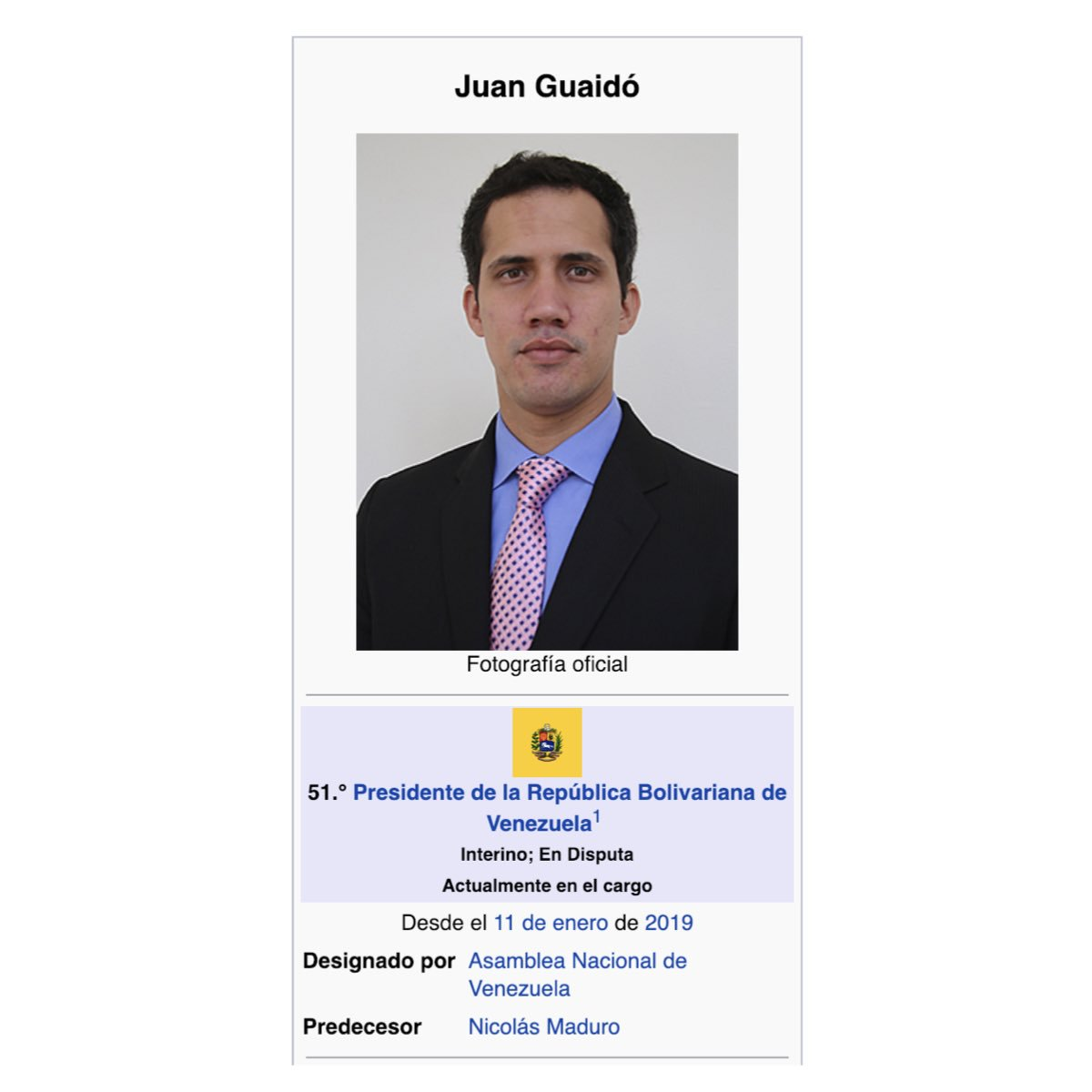 Manuel García's photo on Presidente de Venezuela