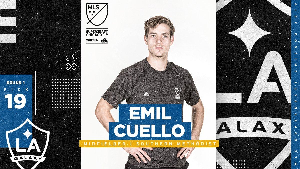 LA Galaxy's photo on Emil Cuello