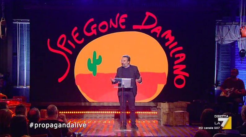 Propaganda Live's photo on #spiegonedamilano