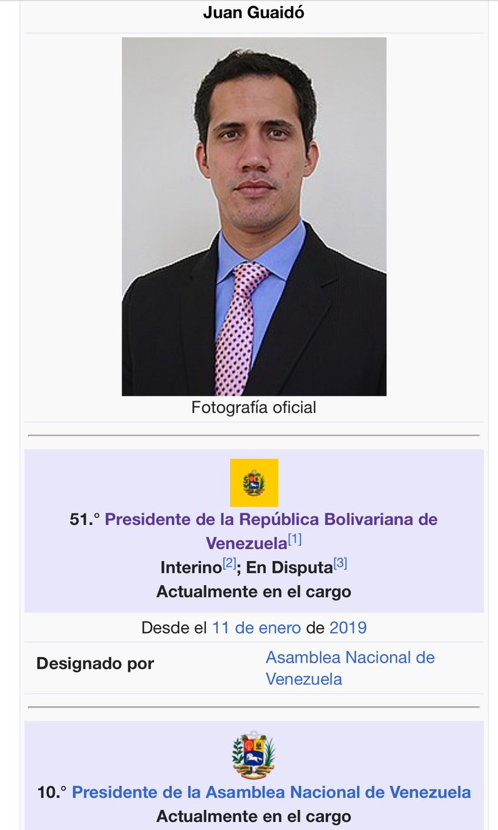 Fabricio Ojeda's photo on Presidente de Venezuela