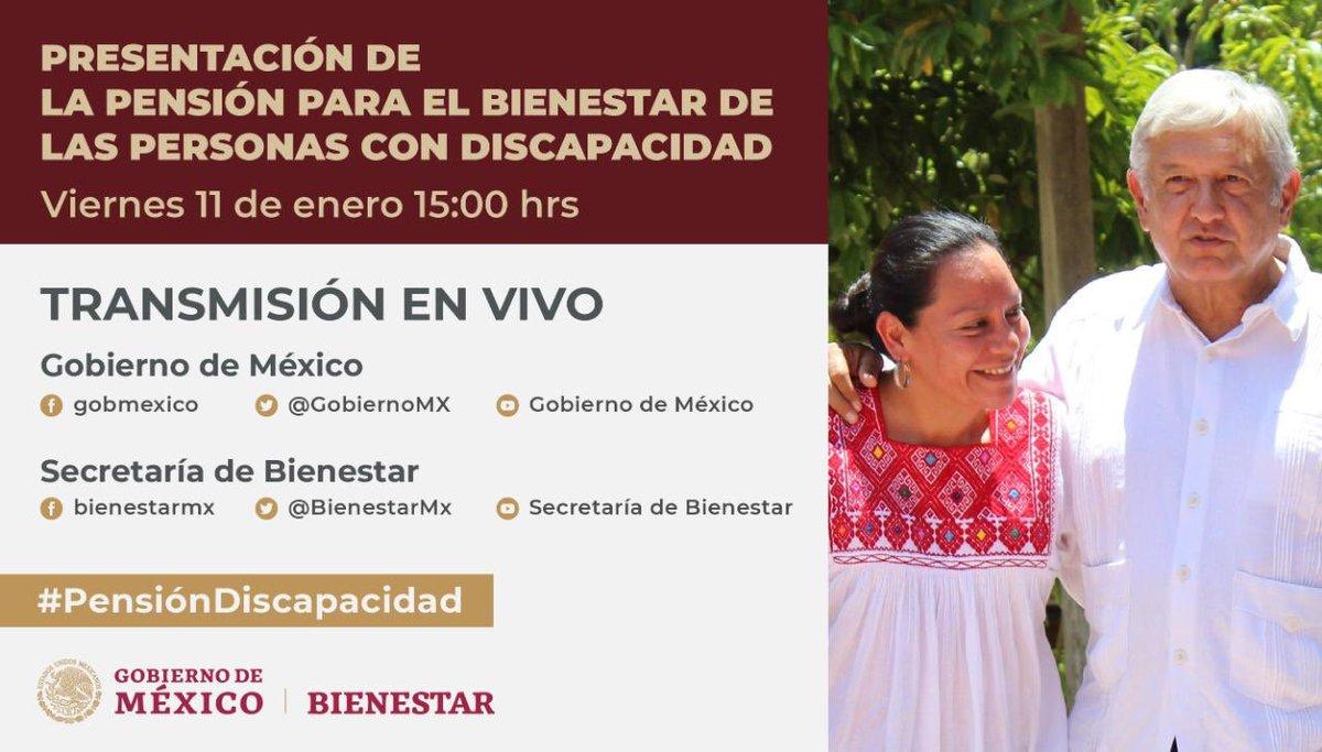 Bienestar's photo on #Pensi贸nDiscapacidad