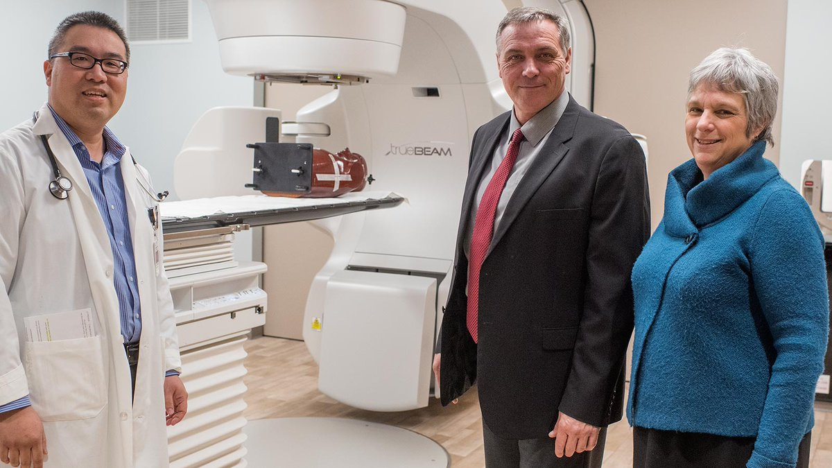 New $10 million state-of-the-art TrueBeam linear accelerator - a step forward for cancer treatment in PEI. https://www.princeedwardisland.ca/en/news/cancer-patients-benefiting-leading-edge-treatment … @Health_PEI @robertmitchell
