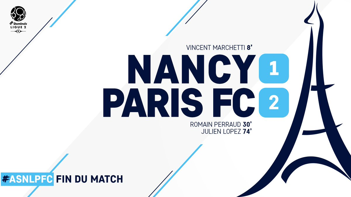 Paris FC's photo on #ASNLPFC