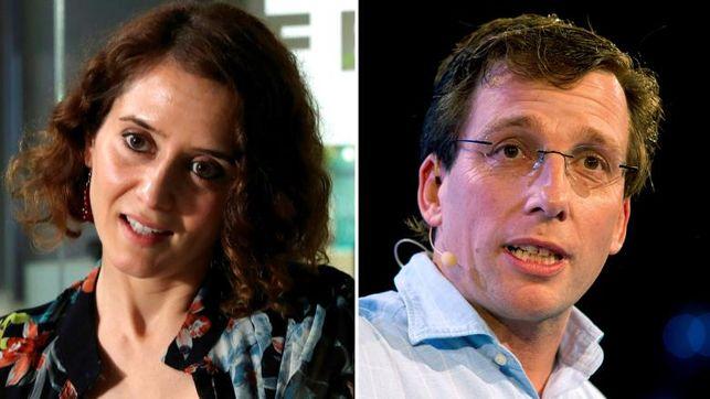 eldiario.es's photo on Ayuso y Almeida