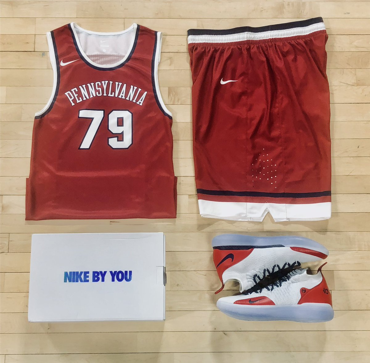 f94d2d1b4 ... throwback uniforms Penn Basketball will wear ...