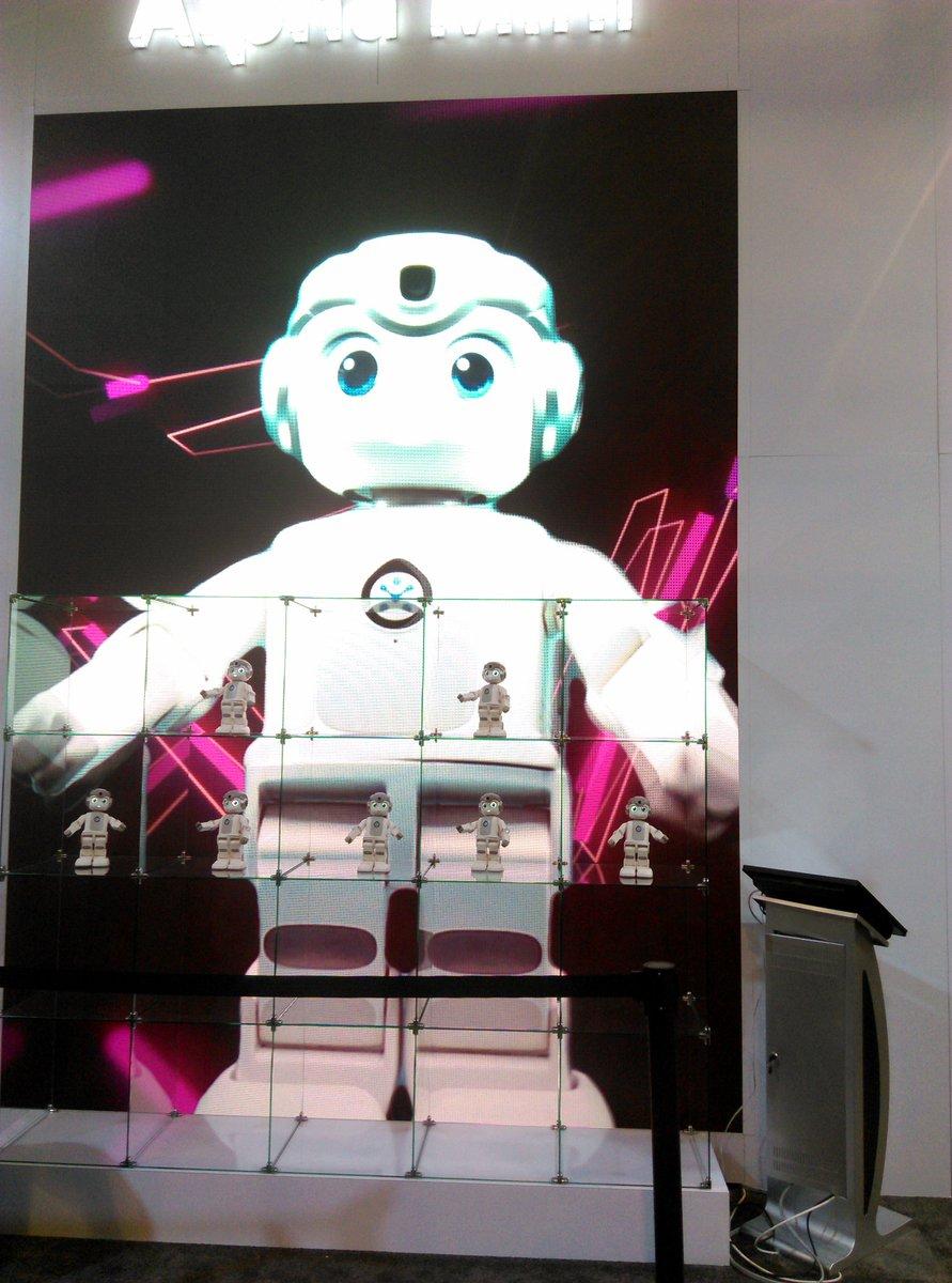 #CES2019 : qui des #humains ou des #Robots sont les plus nombreux au CES cette année ? https://t.co/zTsI9wOaXt