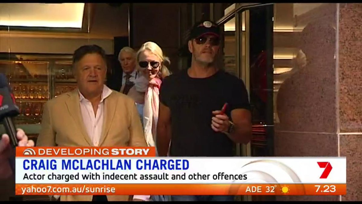 Sunrise's photo on Craig McLachlan