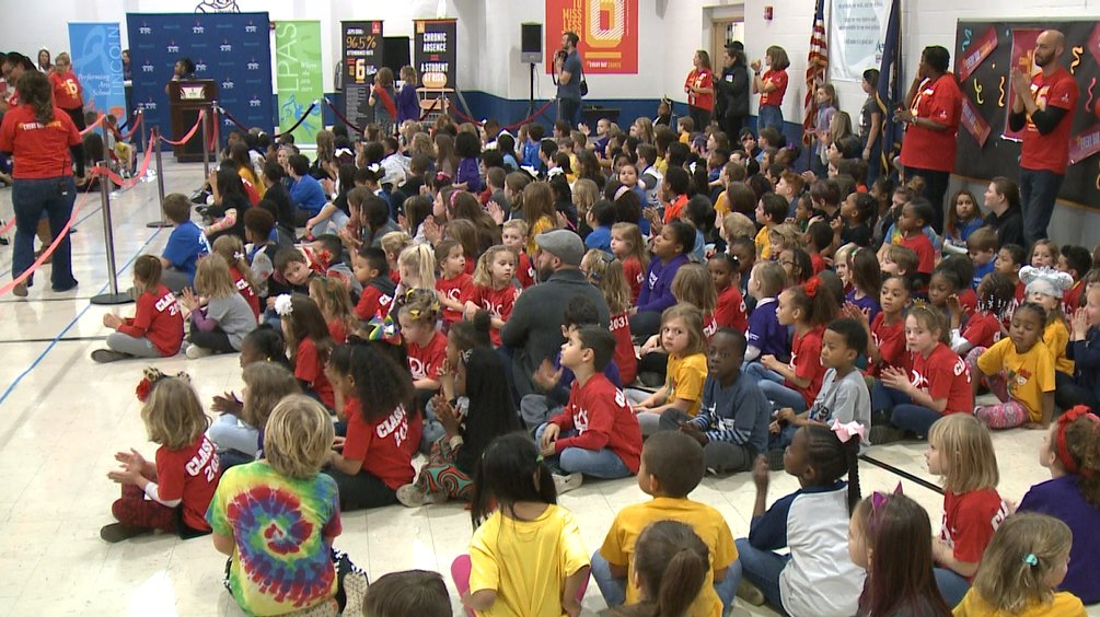 JCPS unveils new attendance initiative at Lincoln Elementary bit.ly/2TJeDYN