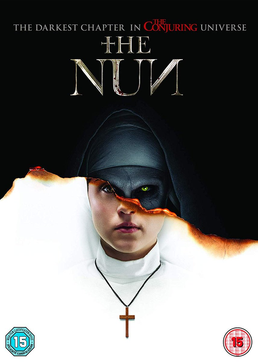 #HappyFriday!  Fancy winning a DVD copy of #TheNun?  Simply Follow @TheArtsShelf, #RT this post AND #Tag a friend to enter!    Closes 23:59 on 18/01!    #Competition #Competitions #TheConjuring #Conjuring #Win #DVD #Giveaway<br>http://pic.twitter.com/7ja5IYxncD