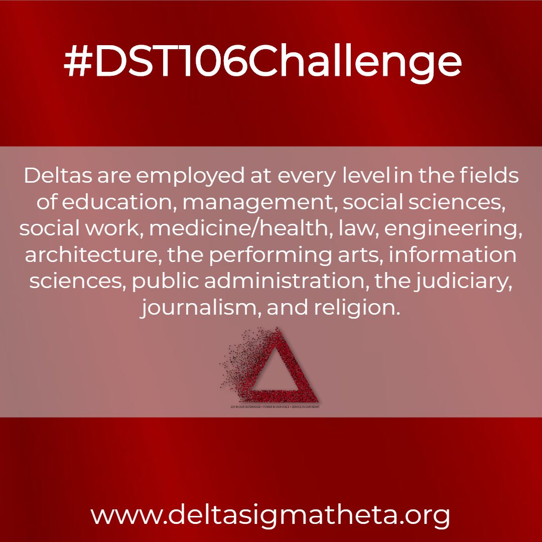 TGIF! Join the 6 Deltas in the House (US House of Representatives, that is) and snap a photo at work before clocking out to celebrate Founders Day Weekend. #DST106 #DST106Challenge<br>http://pic.twitter.com/owtEm2xkAe