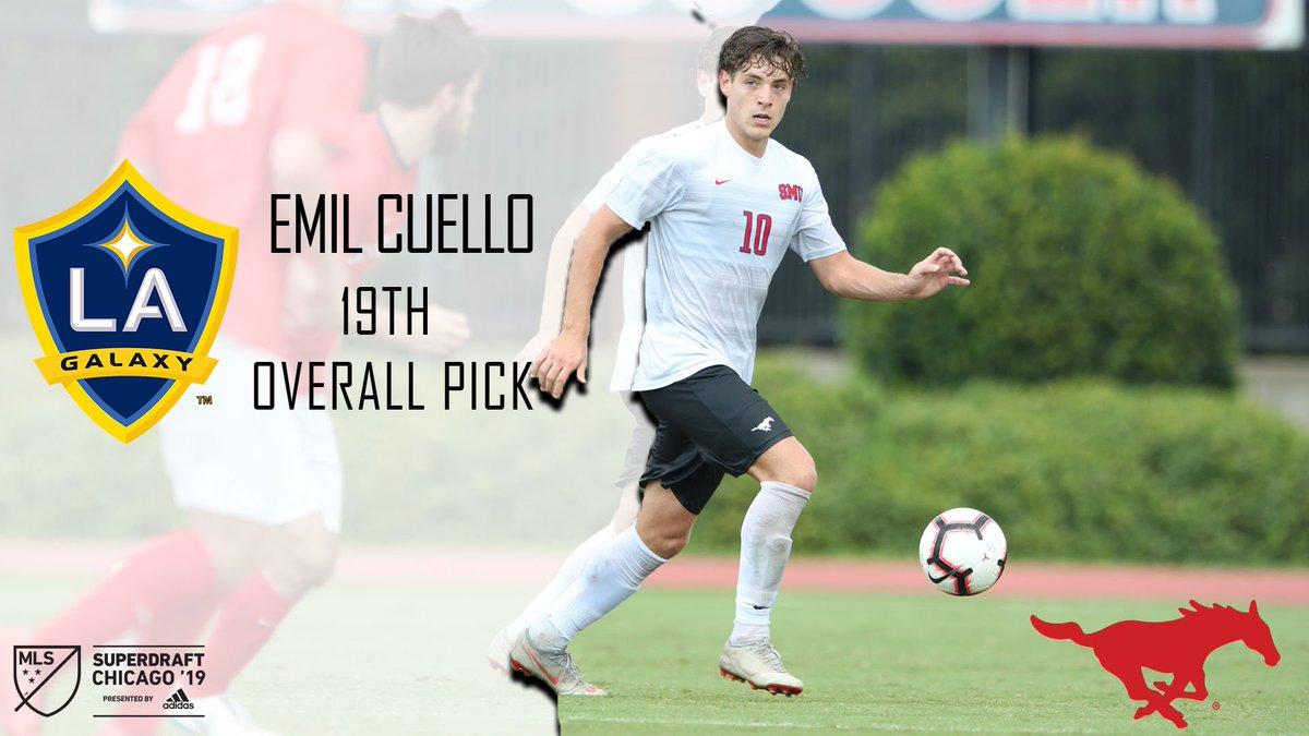 SMU Men's Soccer's photo on Emil Cuello