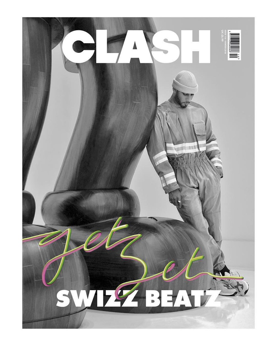 .@THEREALSWIZZZ covers the lastest issue of @ClashMagazine 🔥🔥🔥🎨