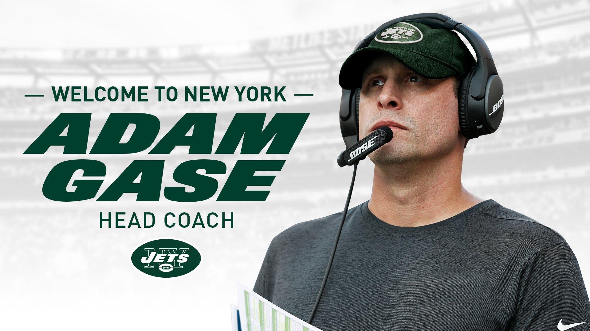 Welcome head coach Adam Gase!  �� https://t.co/UfDaRbSNxT https://t.co/ANBf6Ft7Av