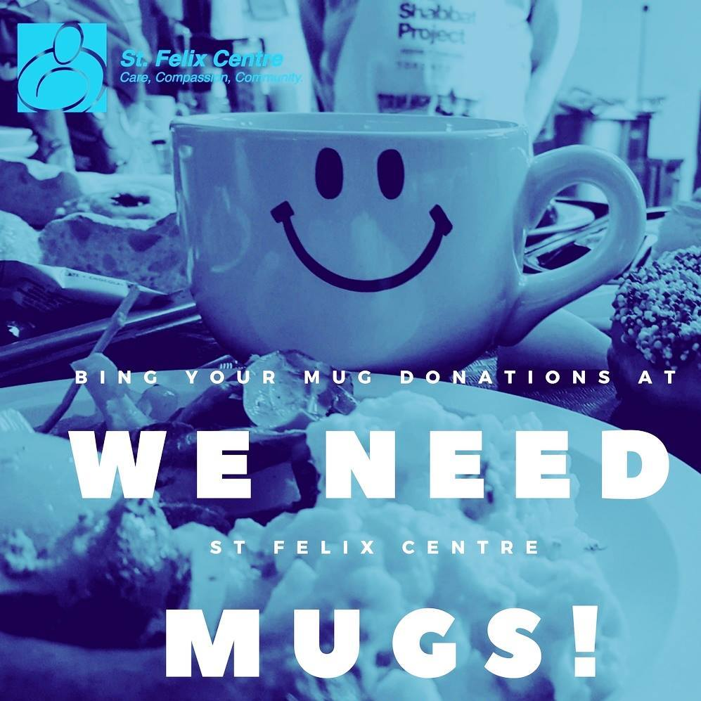 WE NEED MUGS! Hey #Toronto! We are in dire need of mugs at both of our locations - 25 Augusta Ave &amp; Liberty Village site. Our Centre serves approximately 10K meals per month and right now we need lots of mugs to serve warm double-doubles to our guests!  #homeless #FridayFeeling <br>http://pic.twitter.com/uXTiLE6zes