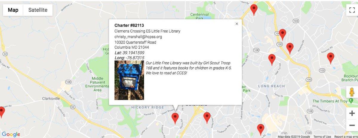Little Free Library World Map.Hcpss Library Media Hcpsslibmed Twitter Profile Twipu