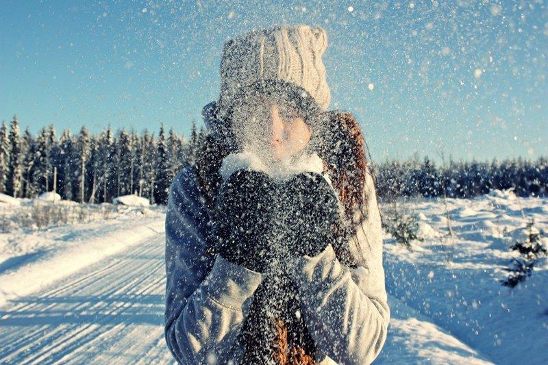 фото про зиму на аву для