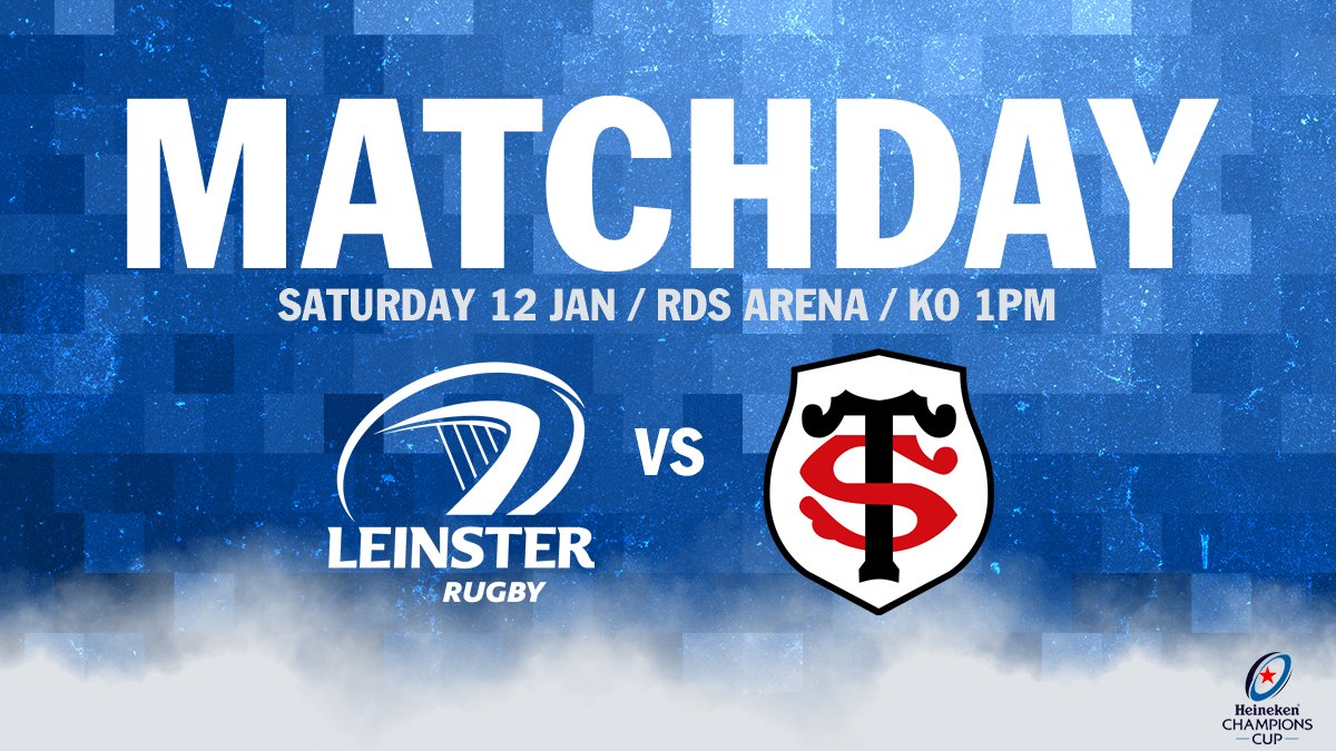 RT if you're backing the boys in today's massive game at the RDS Arena against Toulouse! 👊🔵 #LEIvTOU #JoinTheRoar https://t.co/eIhstzGXlp
